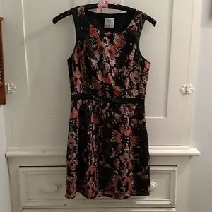 Mac & Jac sleeveless print dress Sz M